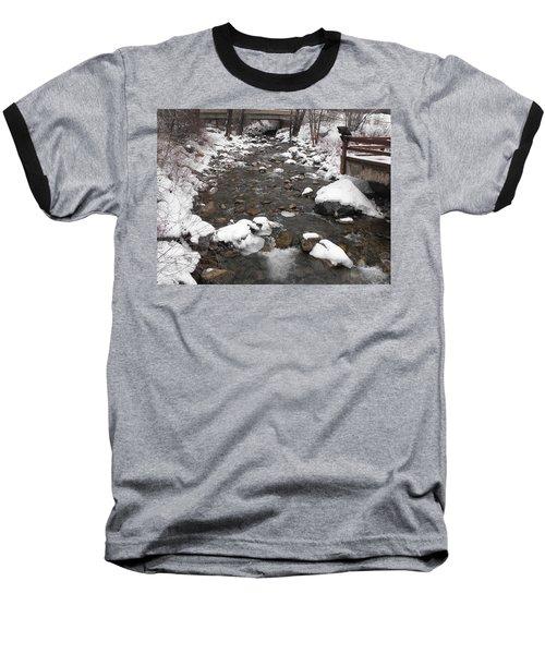 Winter Flow Baseball T-Shirt