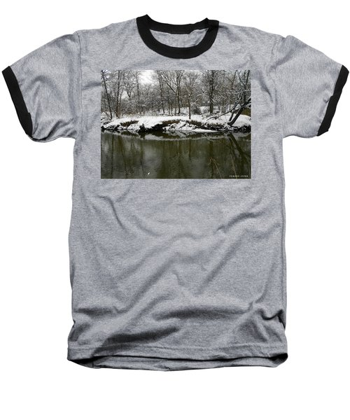 Winter Forest Series 2 Baseball T-Shirt