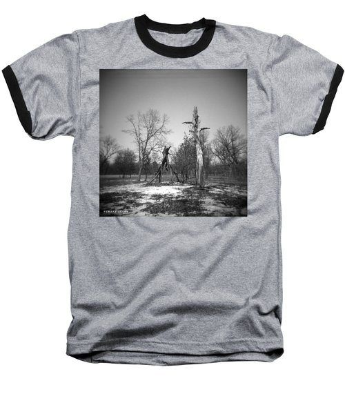 Winter Forest Series 4 Baseball T-Shirt