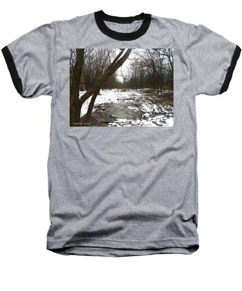 Winter Forest Series Baseball T-Shirt by Verana Stark