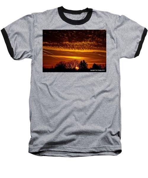 Winter Gold Baseball T-Shirt