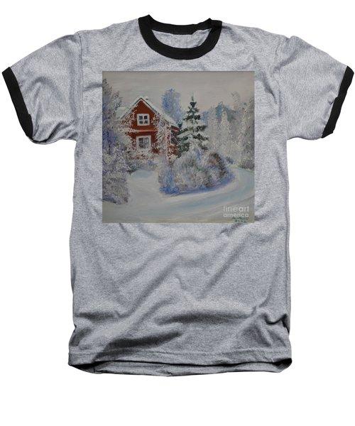 Winter In Finland Baseball T-Shirt