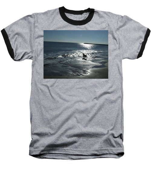 winter in Les Ste Marie de la mer Baseball T-Shirt