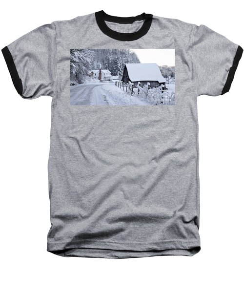 Winter In Virginia Baseball T-Shirt