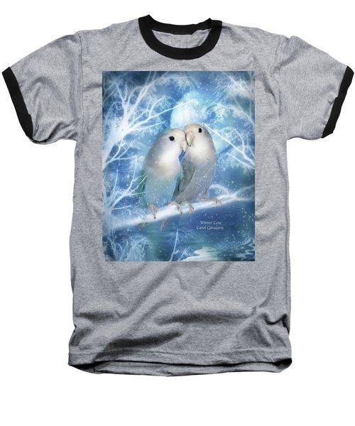 Winter Love Baseball T-Shirt