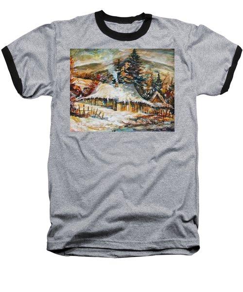 Winter Magic Baseball T-Shirt