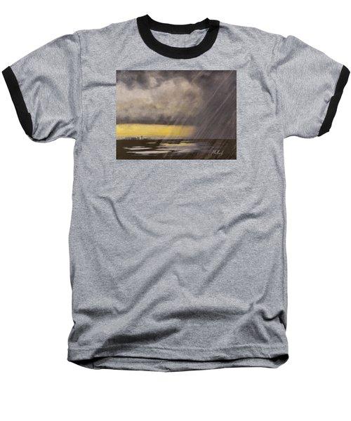 Winter Rain Baseball T-Shirt