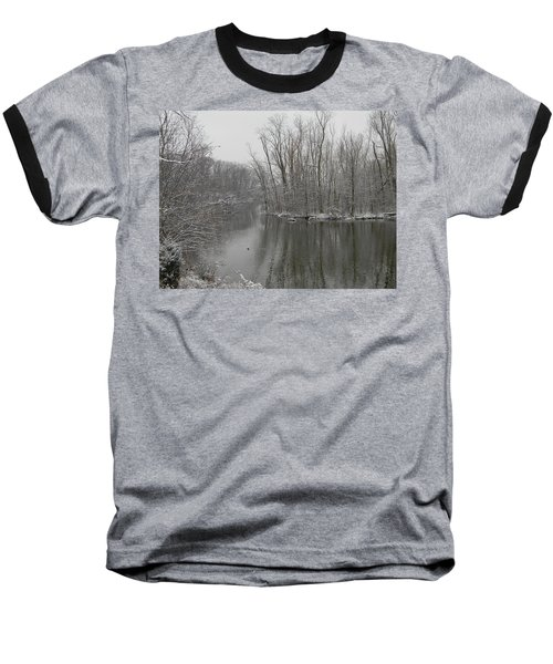 Winter Reflections 1 Baseball T-Shirt