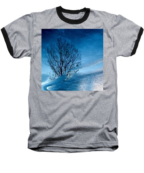 Winter Reflections Baseball T-Shirt by Don Spenner