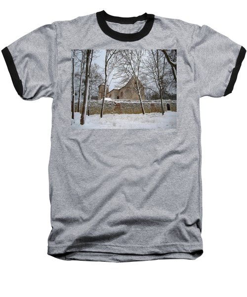 Baseball T-Shirt featuring the photograph Old Monastery by Gabriella Weninger - David