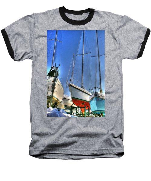 Winter Shipyard Baseball T-Shirt