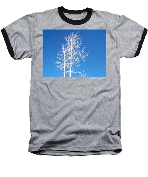 Winter Sky Baseball T-Shirt