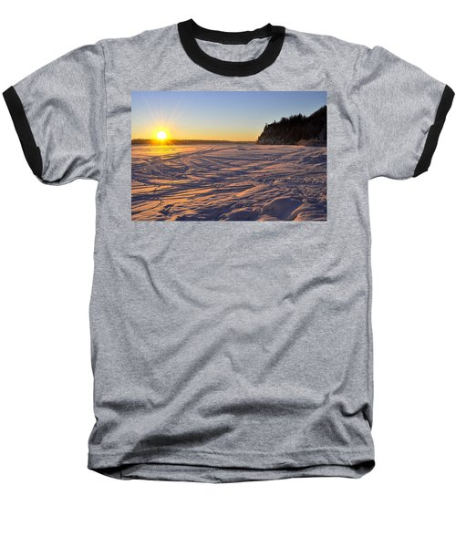 Winter Solstice Baseball T-Shirt