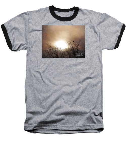 Winter Solstice Baseball T-Shirt by Roselynne Broussard
