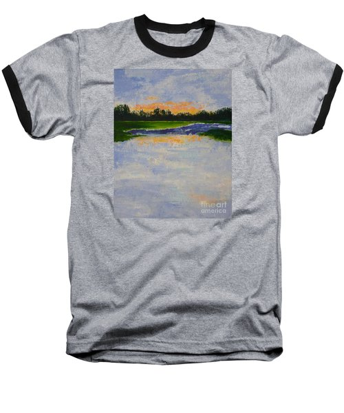Winter Solstice Sunrise Baseball T-Shirt