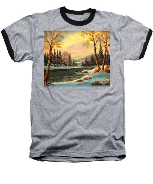 Winter Splendor Baseball T-Shirt