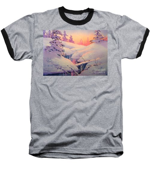 Winter Sun Baseball T-Shirt