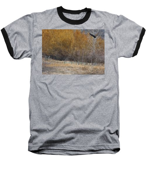 Winter Thaw Baseball T-Shirt by Ed Hall