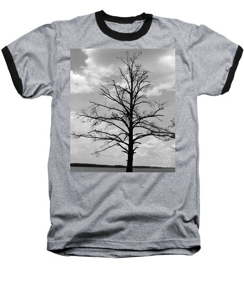 Baseball T-Shirt featuring the photograph Winter Tree by Andrea Anderegg