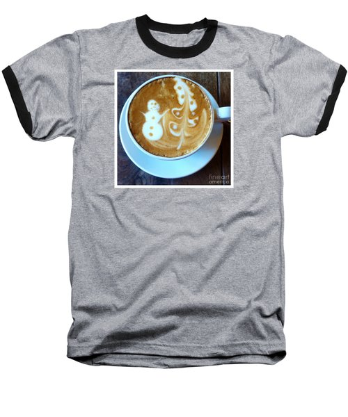 Winter Warmth Latte Baseball T-Shirt