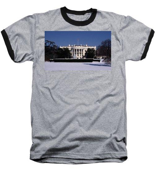 Winter White House  Baseball T-Shirt