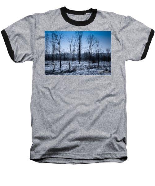 Baseball T-Shirt featuring the photograph Winter Wonderland by Bianca Nadeau