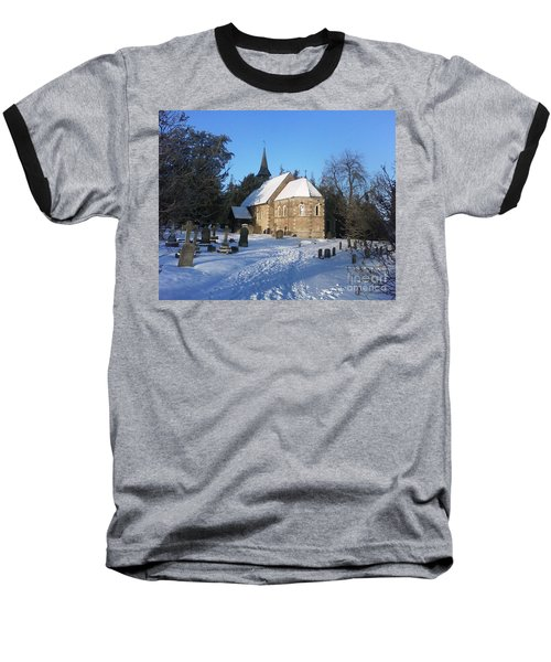 Baseball T-Shirt featuring the photograph Winter Worship by John Williams