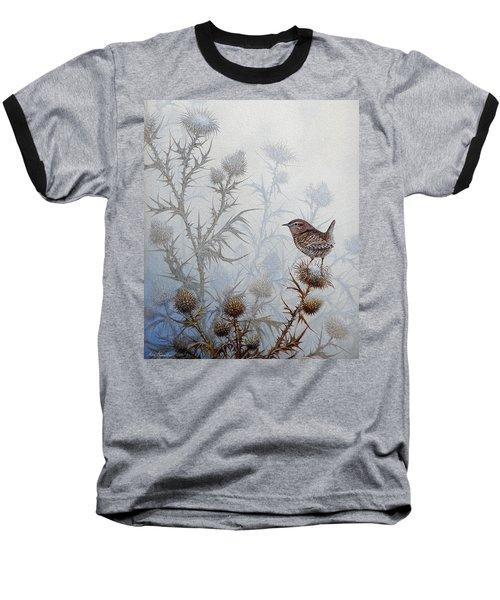 Winter Wren Baseball T-Shirt