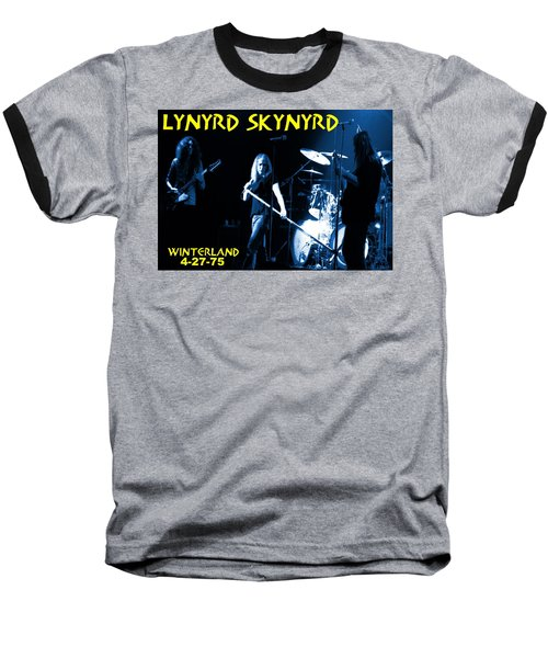 Winterland 4-27-75 Baseball T-Shirt