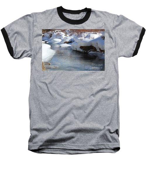 Baseball T-Shirt featuring the photograph Winter's Blanket by Fiona Kennard