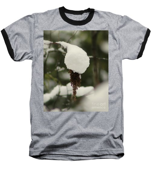 Winter's Cap Baseball T-Shirt by Leone Lund