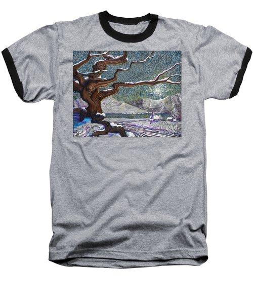 Winter's Day Baseball T-Shirt