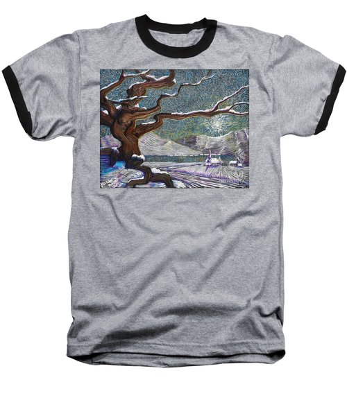 Winter's Day Baseball T-Shirt