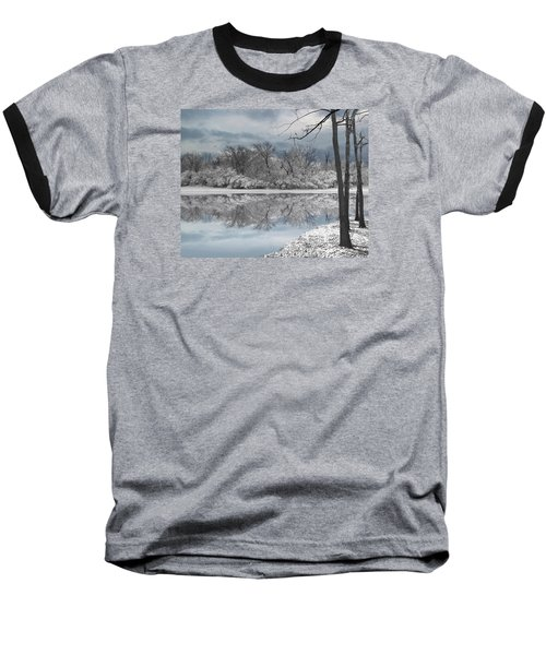 Winters Delight 6 Baseball T-Shirt by Cedric Hampton