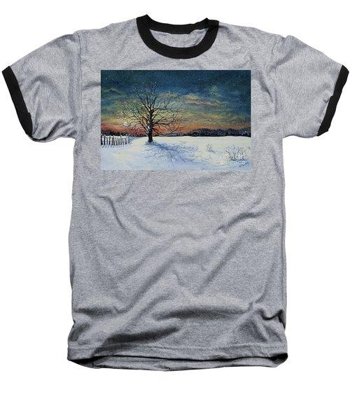 Winters Eve Baseball T-Shirt