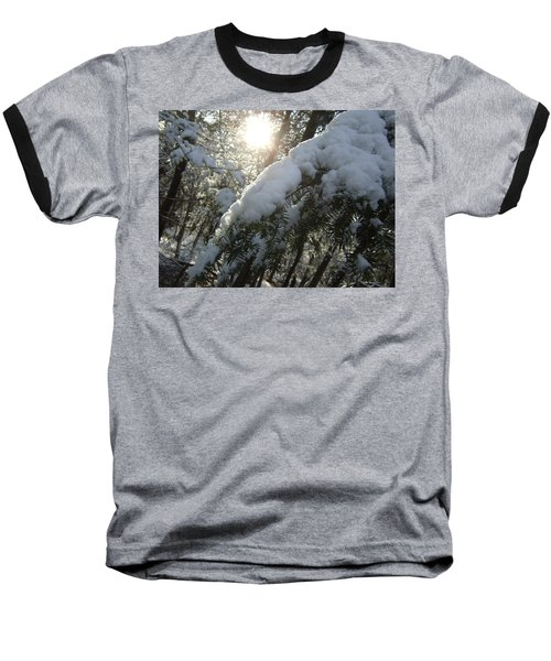 Winter's Paw Baseball T-Shirt