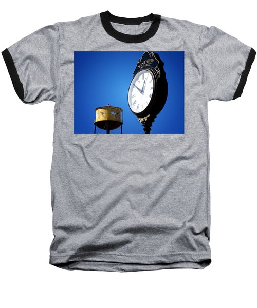 Baseball T-Shirt featuring the photograph Winthrop Time by Greg Simmons