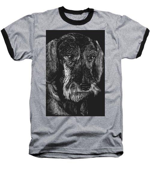 Wire Haired Dachshund Baseball T-Shirt