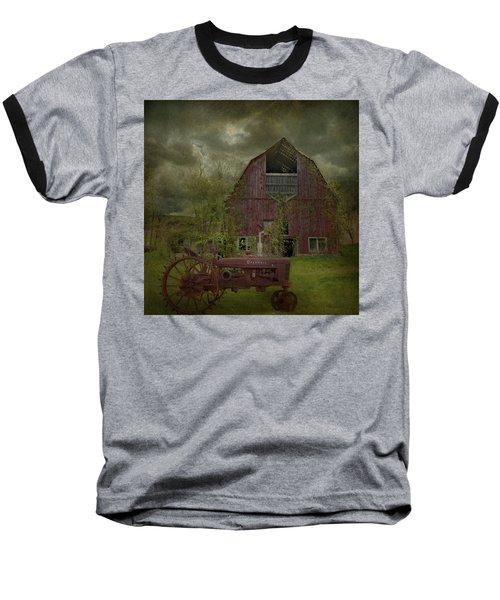 Wisconsin Barn 3 Baseball T-Shirt