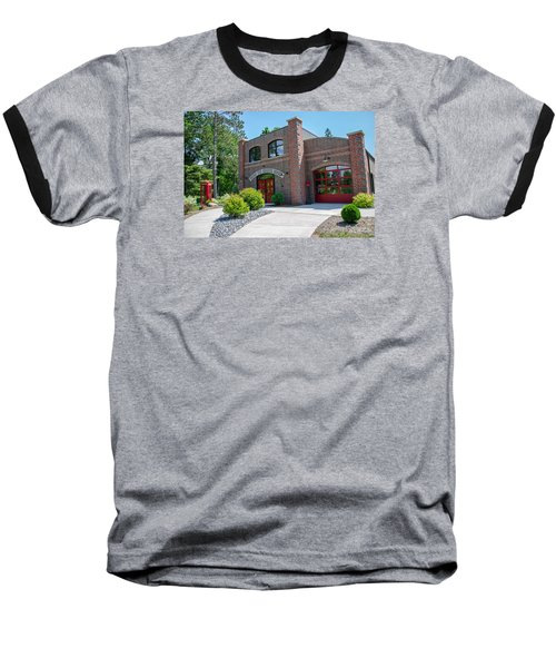 Baseball T-Shirt featuring the photograph Wisconsin State Firefighters Memorial 6 by Susan  McMenamin