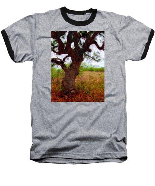 Da214 Wise Old Tree By Daniel Adams Baseball T-Shirt