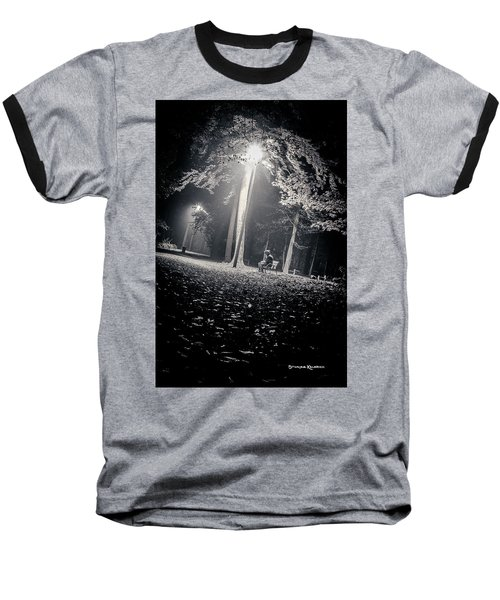 Baseball T-Shirt featuring the photograph Wish You Were Alone by Stwayne Keubrick