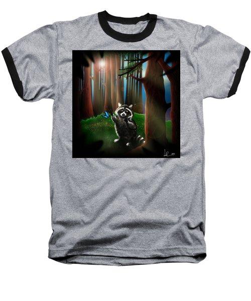 Wishing Upon A Dream Baseball T-Shirt by Alessandro Della Pietra