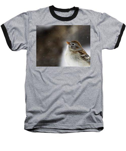 Wishing Upon A Snowflake  Baseball T-Shirt
