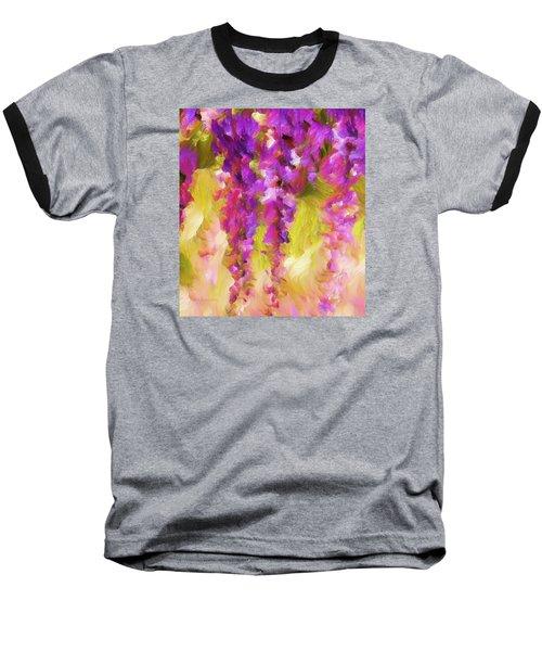 Wisteria Dreams Baseball T-Shirt
