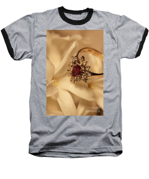 Baseball T-Shirt featuring the photograph With Love by Joy Watson