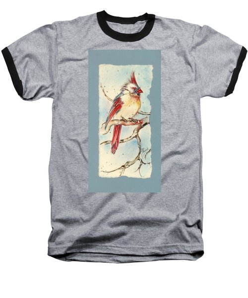 With Touches Of Red  Baseball T-Shirt