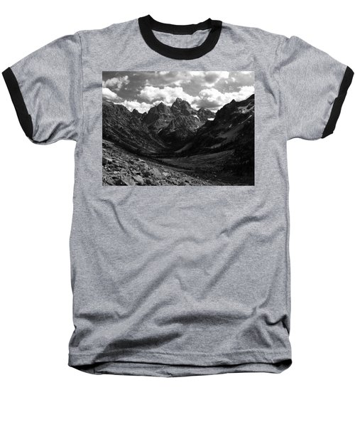 Baseball T-Shirt featuring the photograph Within The North Fork Of Cascade Canyon by Raymond Salani III