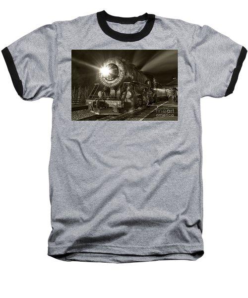 Wmsr Engine 734 At The Frostburg Depot Baseball T-Shirt