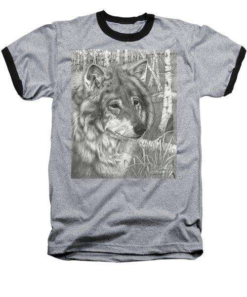 Wolf Gaze Baseball T-Shirt
